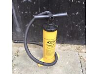 heavy duty push pull pump and attachments good condition collection Basildon or deliver small price