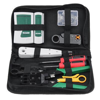 Network Tool Kit Ethernet Lan Cable Tester Crimper Repair Maintenance Tools