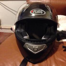 Flint motorbike helmet