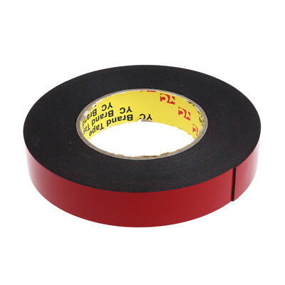 33ft 10m Double Sided Foam Adhesive Tape Automotive Mounting 25mm Width