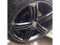 "Volkswagen Golf Talladega 18"" Alloys Black"