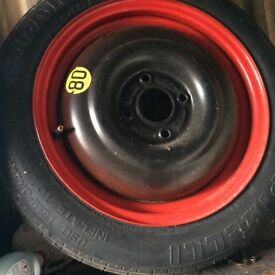 Car spacer wheel size 125/80/r15