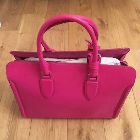 New Alexander McQueen Heroine Zip Tote bag - Pink