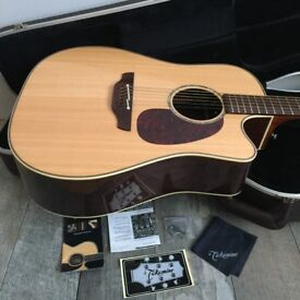 Takamine Tan 16c Electro Acoustic Pro Series Guitar with Original Hard Case