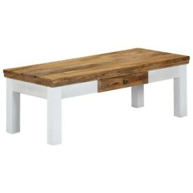 Coffee Table 110x50x40 cm Solid Mango Wood-248096