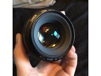 Canon EF 50mm 1.4 STM Lens