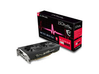 BRAND NEW Sapphire AMD Radeon RX 580 8GB DDR5 RIRECTX 12 PULSE Graphics Card