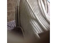 LLOYD LOOM VINTAGE GOOD SIZE CHAIR ,IN PERFECT CONDITION ,SOLID AND HEAVY