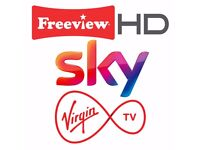 Aerial Installations, TV, Satellite & Virginmedia Engineer