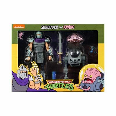 NECA TEENAGE MUTANT NINJA TURTLES SHREDDER vs. KRANG - Teenager Ninja Ninja Turtles