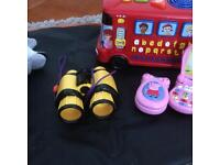 various toys various prices. from £2.00