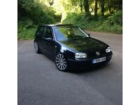 "1999 mk4 Volkswagens golf gti 1.8 turbo 3 door hatchback, petrol, manual, black "" 12 MONTHS MOT """
