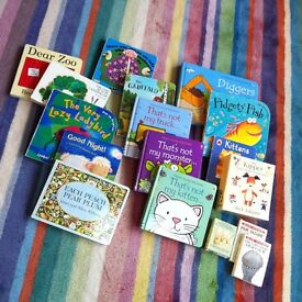 Kids board books & wooden toys age 1 to 4