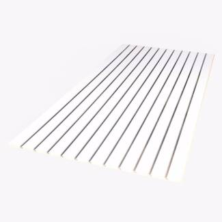 Slatwall panels 2400 x 1200 White landscape
