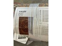 IKEA Valby large red rug