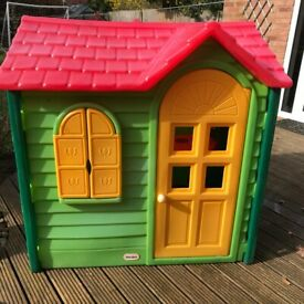 Happy Hop Kids Princess Joy House Bouncy Castle with Slide Castles