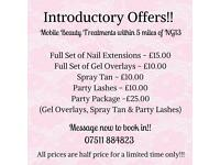 Nottingham nails and spray tanning