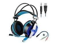 GS700 3.5mm LED Headset for PS4 / XBOX ONE