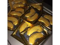 COLLAGEN GOLD ANTI AGE EYE MASKS