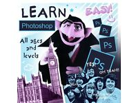 LEARN PHOTOSHOP :) All ages and levels