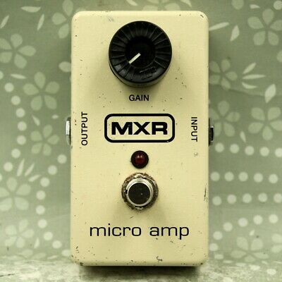 MXR M133 Micro Amp Guitar effect Boost pedal (MMI11N390)
