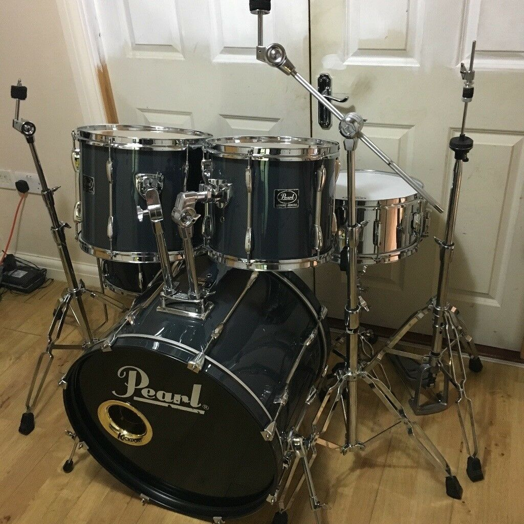 Fully Refurbished Pearl Export Drum Kit ~Free Local Delivery~