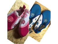 Pink Blue High Quality swim beach shoes baby toddler