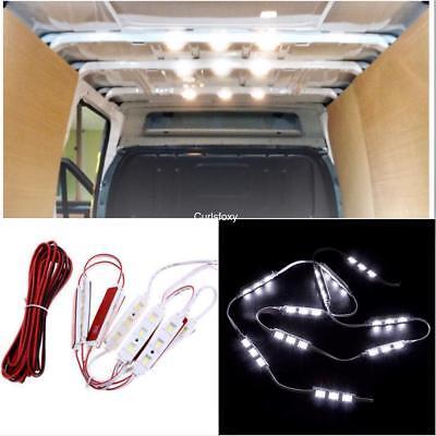 Car Parts - 12v Car LED LIGHT Kit 30 LEDs Interior Ultra Bright For SWB LWB Van Transit VW