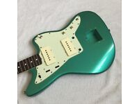 Jazzmaster Sherwood Green Metallic Aged Body