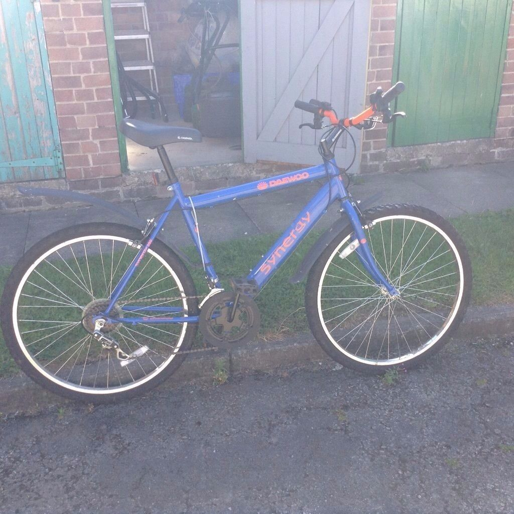 Daewoo synergy mountain bike. Wheel Size:25
