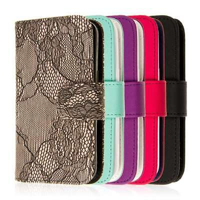 For Samsung Galaxy Avant Phone Case Wallet Credit Card ID Slot Flip Cover ()