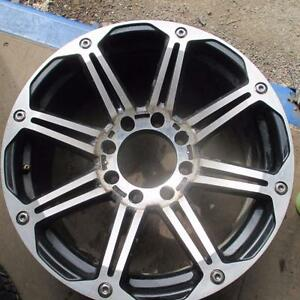 "20"" CUSTOM GM 2500/3500 PICK UP 2010 AND OLDER 8 SPLIT SPOKE RIMS 8X6.5 BOLT PATTERN"