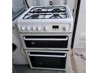 Hotpoint gas cooker grill and oven. Free delivery