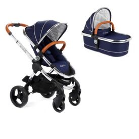I Candy Pushchair with Carrycot & Foot muff