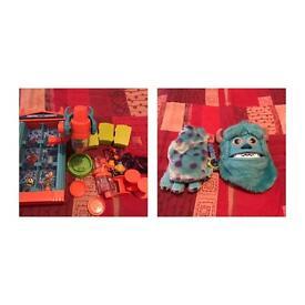 Monsters inc toys job lot