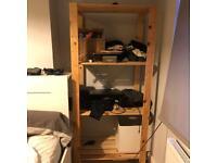 Two Wooden Wardrobss