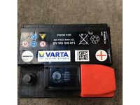 Car battery 12v 44Ah for small car like vw polo
