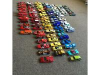 Over 90 cars- most Hot Wheels
