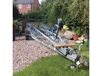 Boat trailer , twin axel