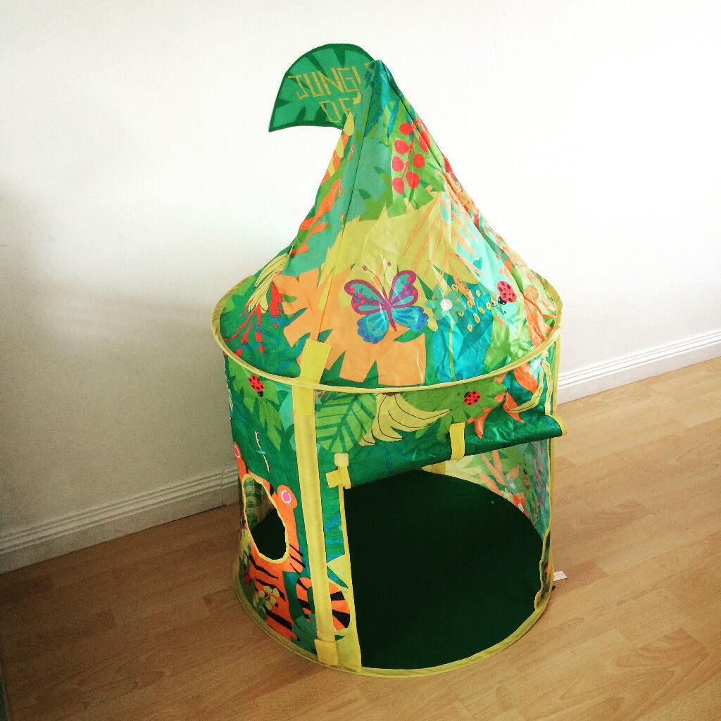 tesco jungle pop up tent
