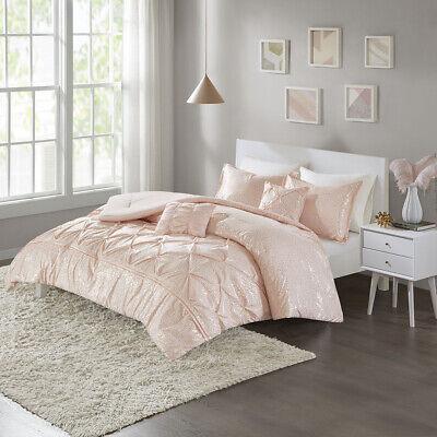 Intelligent Design Adele Metallic Comforter Set