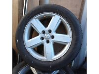 dodge ram alloy wheels and tires 7000 dunlop tire