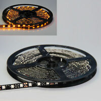 Amber 5M 500CM 300 SMD Flexible Strip 5050 LED Light Waterproof