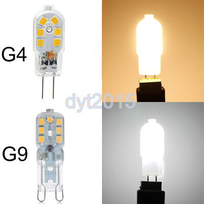 G4/G9 LED Capsule Light Bulbs Dimmable Halogen Bulbs Replacement Lamps AC/DC 12V 12v Ac Halogen Lamps