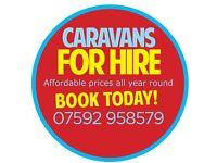 8 berth caravan Haggerston castle book now..