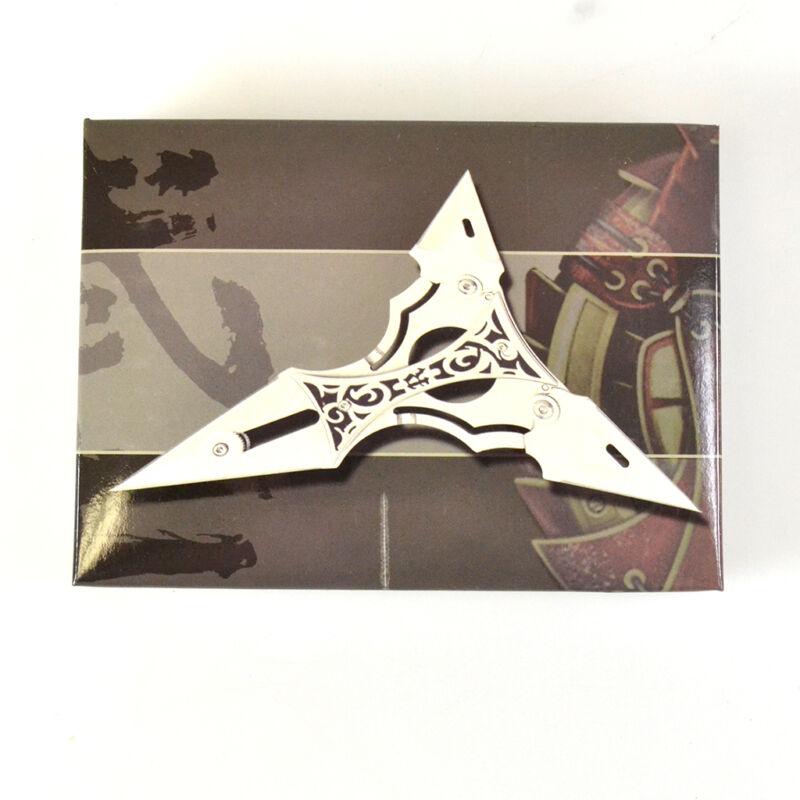 Tri-point folding Knife with Sheath TY 0028