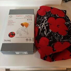 Bugaboo Bee Andy Warhol Poppies Hood