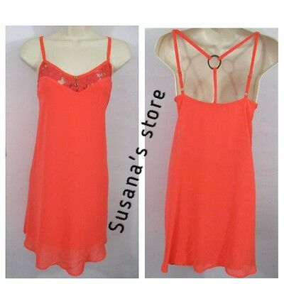 NEW bebe sleeveless BRIT LACE TRIM CAMI Dress SIZE XS Super SEXY MSRP $100