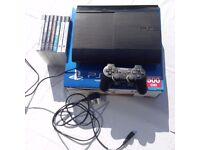 For Sale Super Slim Line PS3 (Sony PlayStation 3) 500GB With Game Bundle