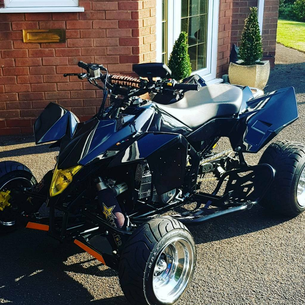 Suzuki Ltr 450 supermoto road legal quad